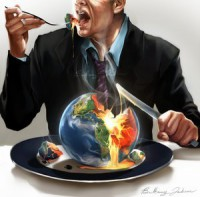 eat earth, Earth Day, Climate change, climate crisis, global warming, green washing, Occupy Earth, Occupy